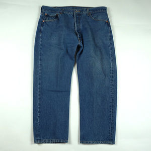Vintage Levis 501 Button Fly Straight Leg 36 X 28